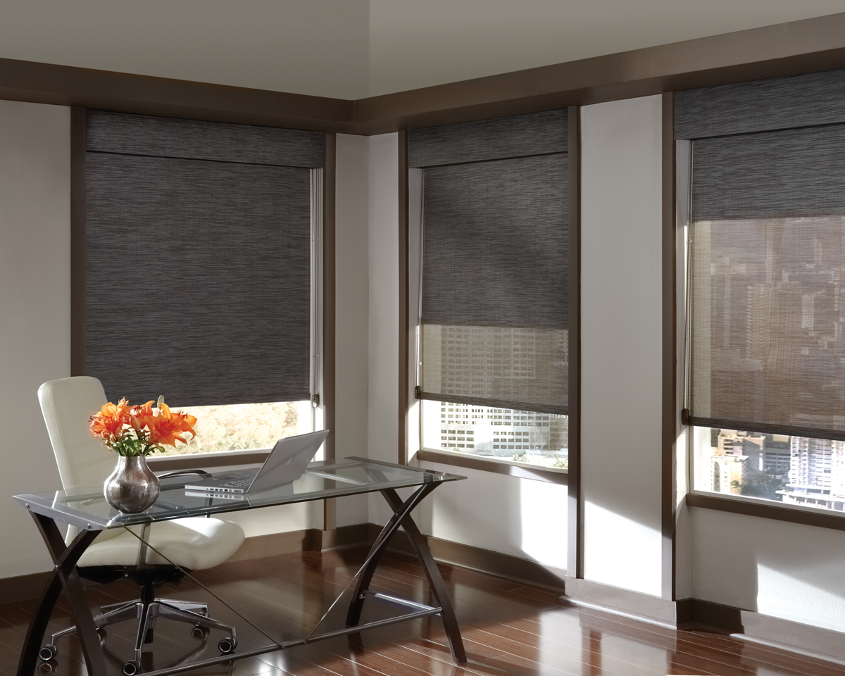 main line shades cellular roller woven wood shades