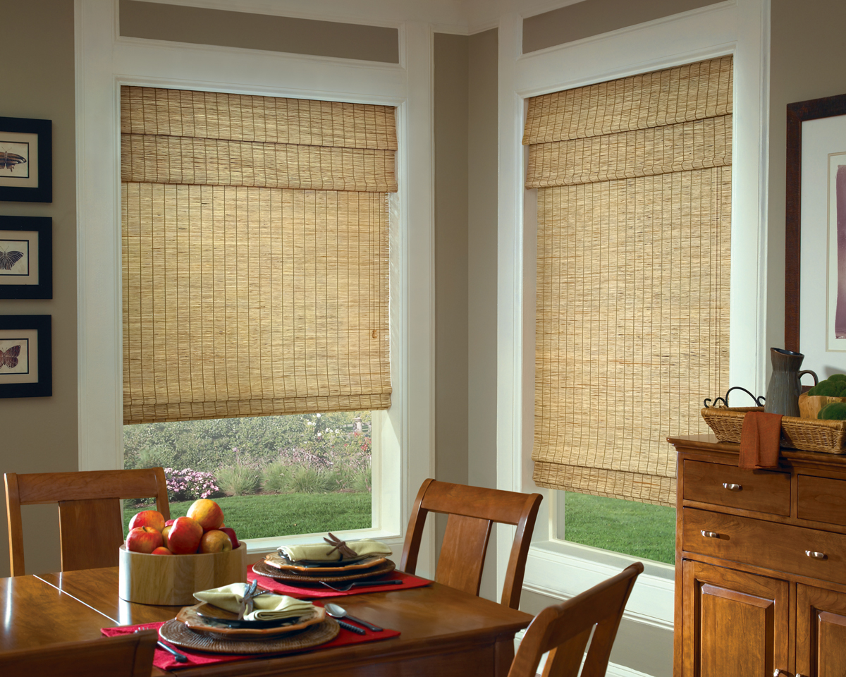 Newtown Shades 215 322 5855 Cellular Roller Woven Wood