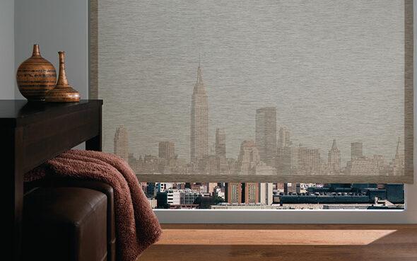vinyl coated fiberglass uv protection greenguard certified designer screen shades cordless motorized lift