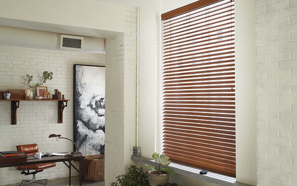 white stained painted everwood wood blinds classic high traffic humidity moisture anti-bend anti-yellow anti-fade blinds greenguard certified