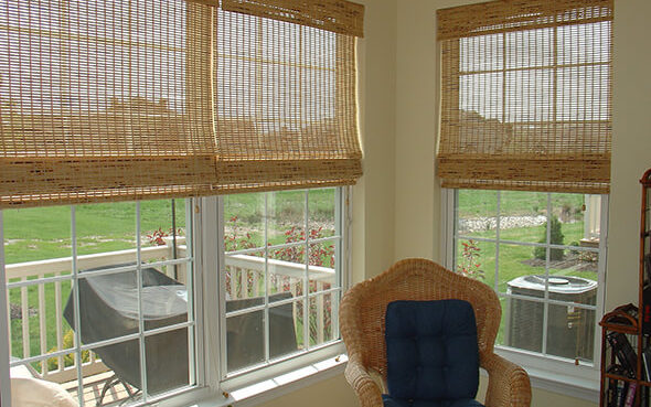 Provenance Woven Natural Wood Shades Blind Builders