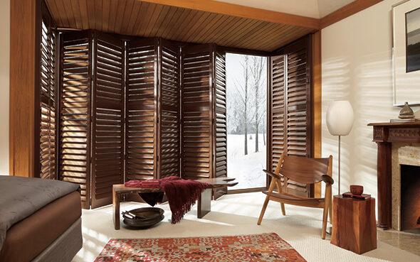 newstyle wood modern day materials hybrid class stylish economic shutters