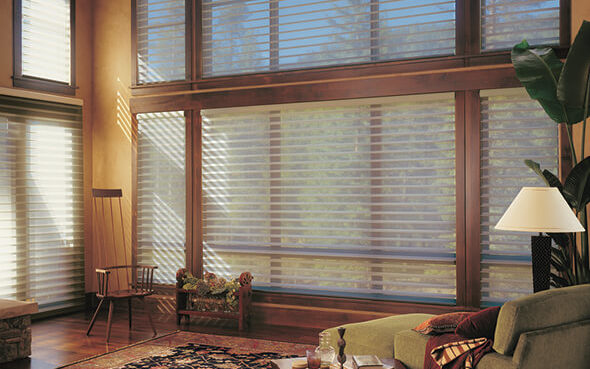 silhouette window shade blind combination adjustable faric uv protection dust repelling greenguard certified duolite aduex easyrise literise cordless ultraglide powerview motorization